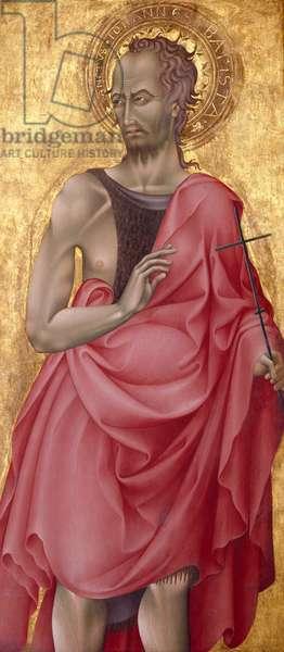 Saint John the Baptist, c.1435-1440 (tempera & gold leaf on wood)