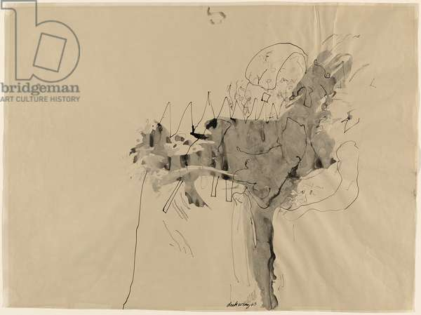 Untitled, 1963 (ink on wove paper)