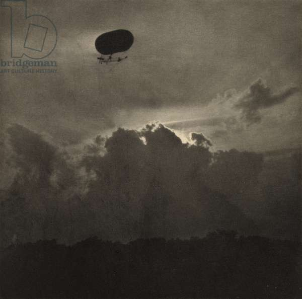 A Dirigible, published October 1911 (photogravure)