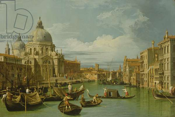 The Entrance to the Grand Canal, Venice, c.1730 (oil on canvas)
