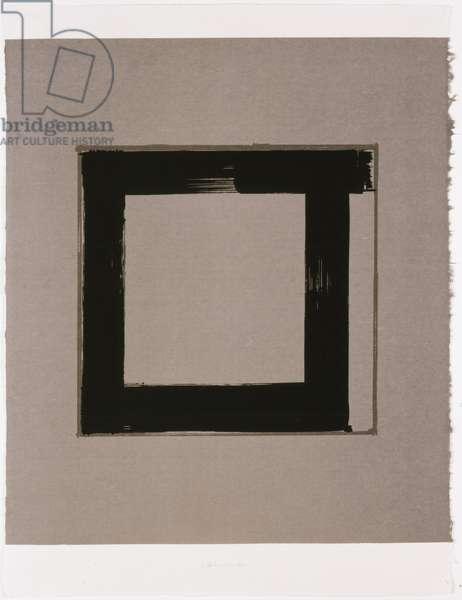 Untitled I, 1983 (screenprint on Japanese handmade paper)