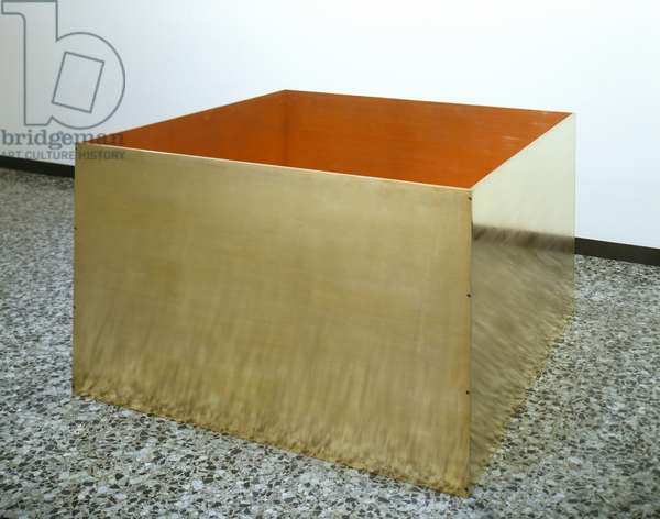 Untitled, 1975 (brass and painted aluminium)