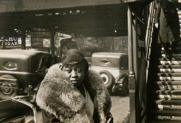6th Avenue at 42nd Street, New York, 1929 (gelatin silver photo)
