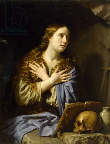 The Repentant Magdalen, 1648 (oil on canvas)