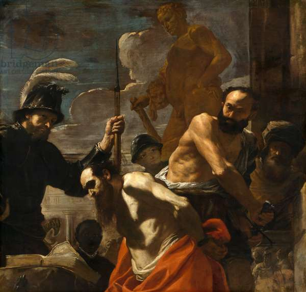 The Martyrdom of St. Paul, c.1656-59 (oil on canvas)