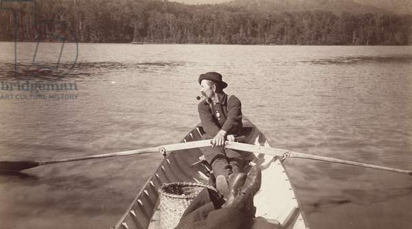 The Way it Looks from the Stern Seat, 1880s-1890s (albumen silver print from glass negative)