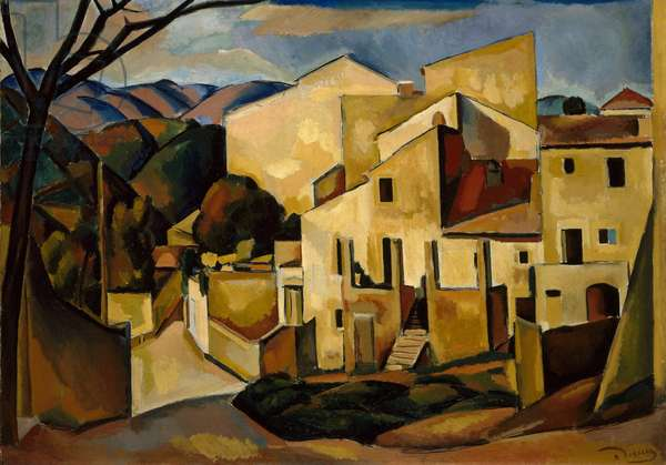 Cagnes, 1910 (oil on canvas)