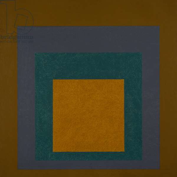 Homage to the Square: Transmuted, 1959 (oil on Masonite)