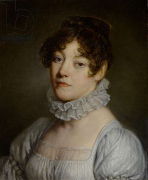Portrait of a Young Woman, 1790-1805 (oil on panel)