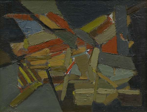 Untitled, 1949 (oil on canvas)