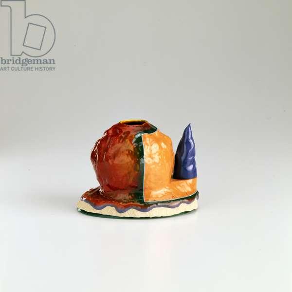Knucklehead, Jr., 2000 (earthenware with overglaze)