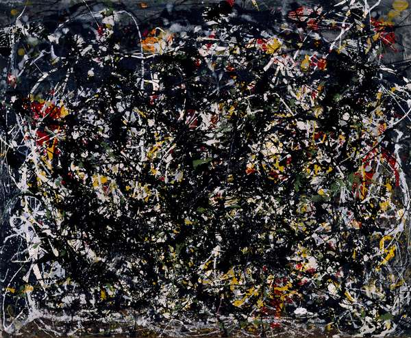 Number 6, 1949 (duco and aluminium paint on canvas)