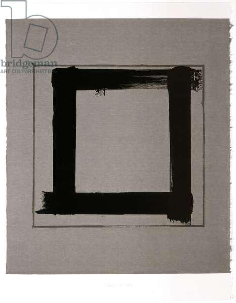 Untitled III, 1983 (screenprint on Japanese handmade paper)