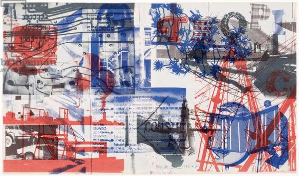 Untitled, 1979 (colour litho)