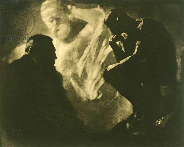 Rodin's 'The Thinker', Paris, 1902, printed 1904 (photogravure)
