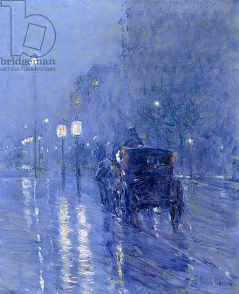 Rainy Midnight, late 1890s (oil on canvas)