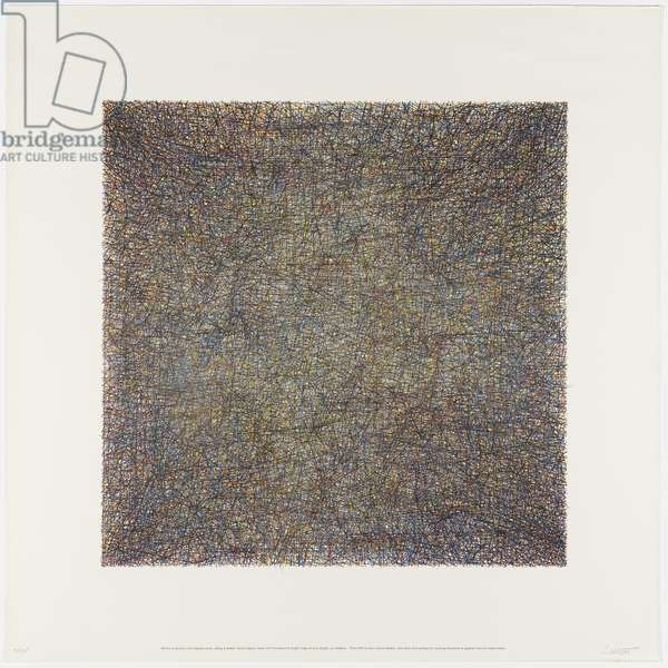 Untitled, 1971 (lithograph in colors)