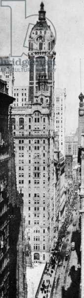 The Singer Building, 1909-1910 (photogravure)