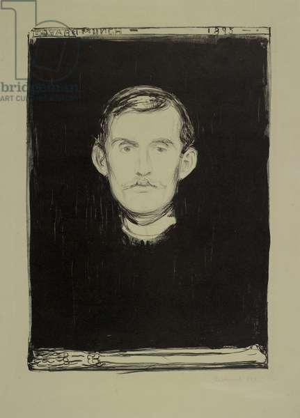 Self Portrait, 1895 (litho)