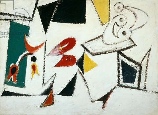 Composition, 1937 (enamel on canvas)