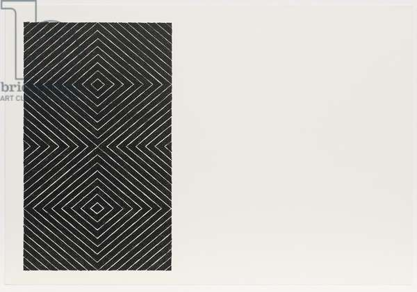 Gezira, from the Black Series II, 1967 (litho)