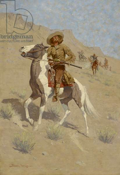 The Scout, c. 1902 (oil on canvas)