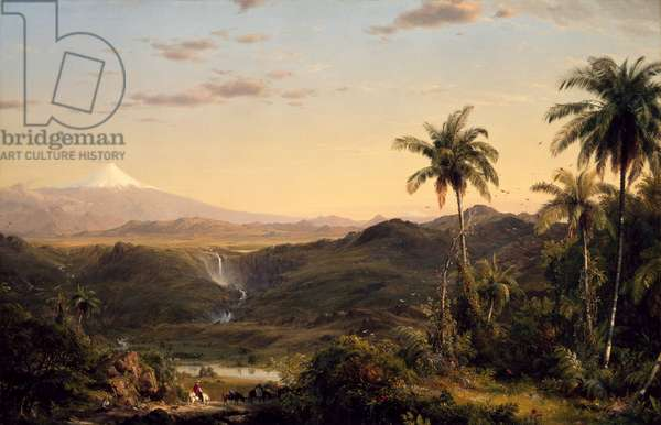 Cotopaxi, 1855 (oil on canvas)