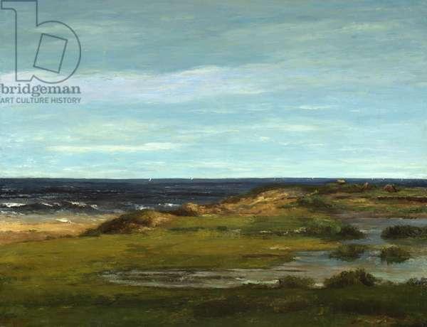 Seascape, c.1865 (oil on canvas)