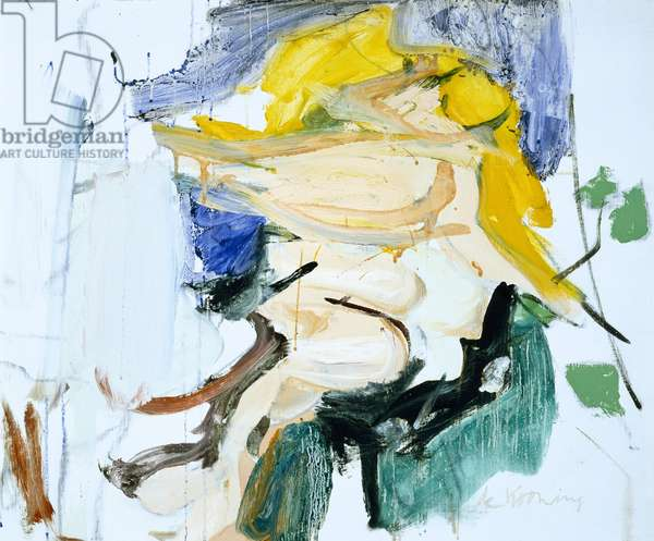 Figure in a Landscape, 1966 (oil on canvas)