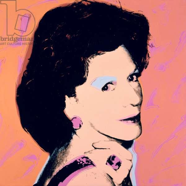 Caroline, 1976 (acrylic on canvas)
