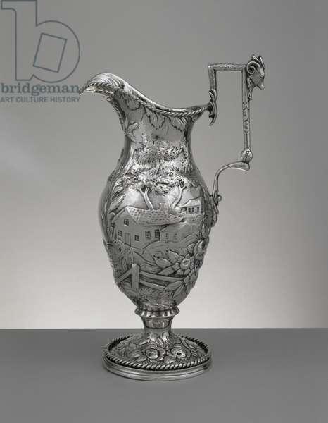 Cream Pitcher, c. 1850 (silver)