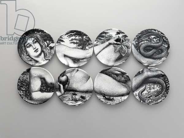 """""""Eve"""" Plates, designed 1960 (porcelain)"""