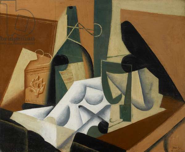 The White Tablecloth, 1912-16 (oil on panel)