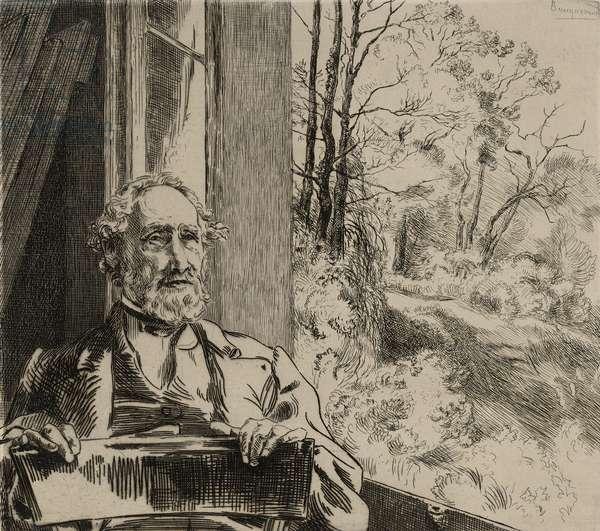 Portrait of Jacob Meyer-Heine, 1872 (etching, ii/iii)