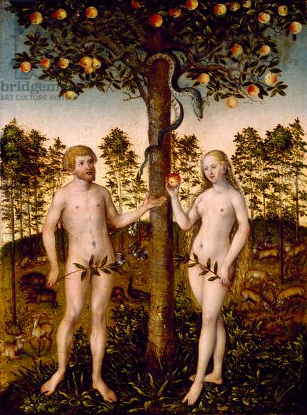The Fall of Man, 1549 (oil on panel)