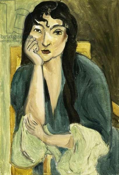 Meditation (Portrait of Lorette), c.1916 (oil on canvas)