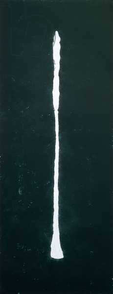 Giacometti Piece II, 1997 (pastel on paper)