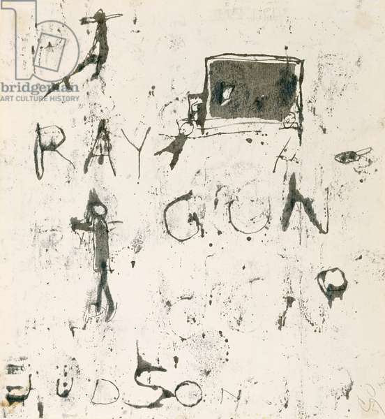Ray Gun, 1959 (transfer drawing (monotype))