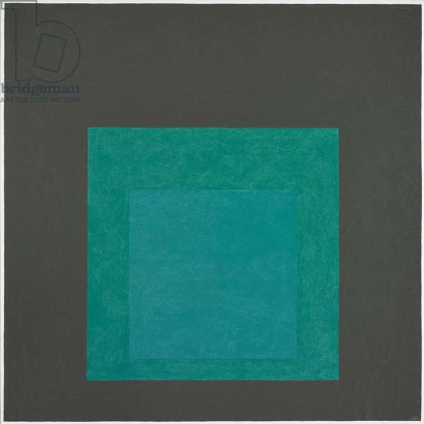 Homage to the Square, 1963 (oil on masonite)