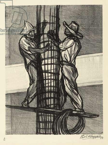 Untitled, 1954 (litho)