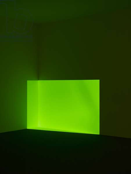 Acro, Green, 1968 (projected light)