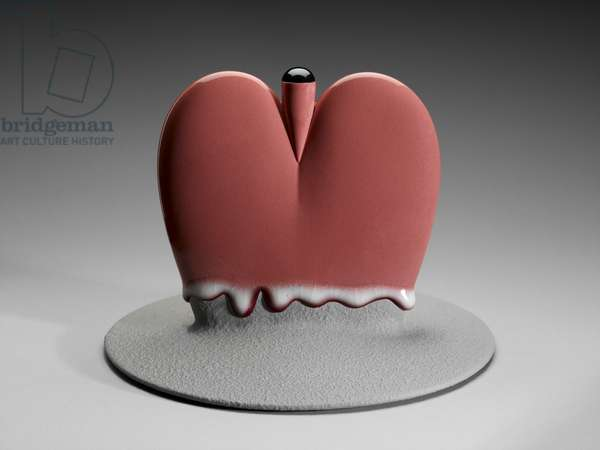 The Puddle of Love, 2003 (porcelain)