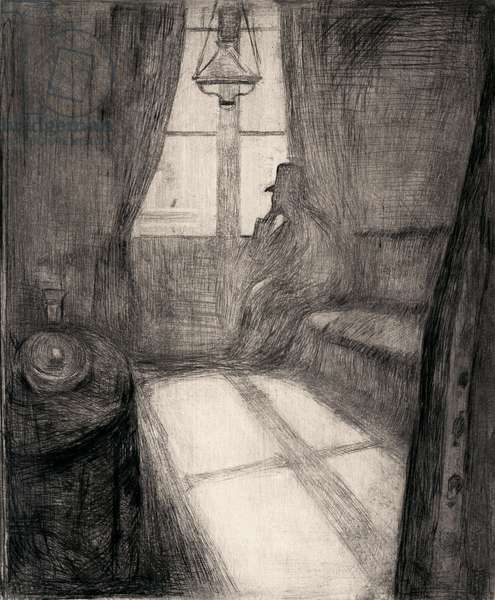 Moonlight (Night in Saint-Cloud), 1895 (drypoint)