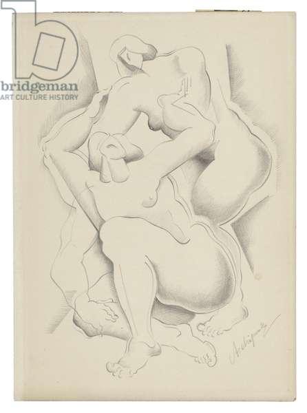 Untitled II, c. 1921-1923 (graphite on paper)