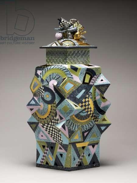Untitled Jar, 2000 (whiteware)