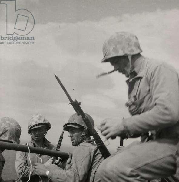 Iwo Jima, February 23rd 1945 (gelatin silver print)