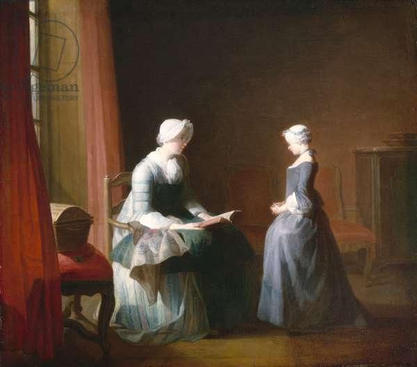 The Good Education, c.1753 (oil on canvas)