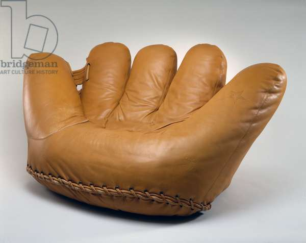 Joe Sofa, designed by Gionatan de Pas (1932-91), Donato D'Urbino (b.1935) and Paolo Lomazzi (b.1936), 1971 (leather, polyurethane and metal)