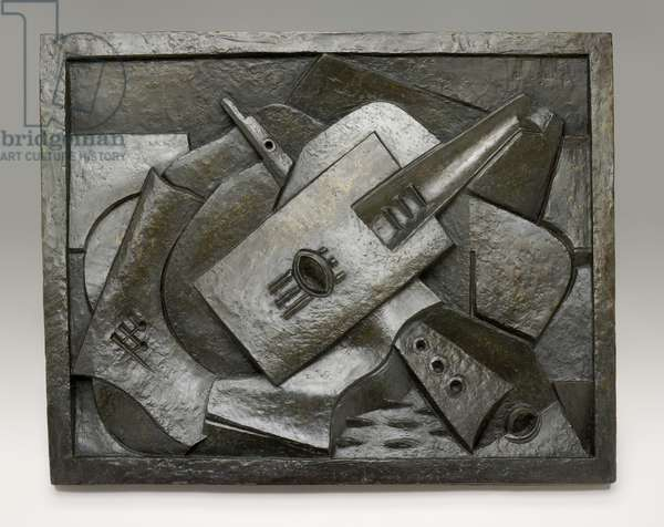 Still Life with Musical Instruments, 1918 (bronze)