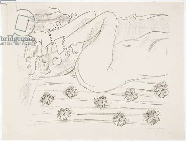 Reclining Nude, 1928-29 (lithograph)